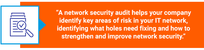 network security audit quote