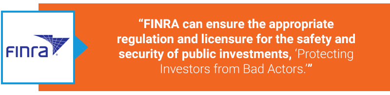 FINRA compliance quote