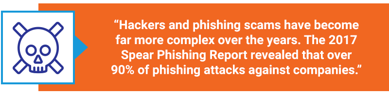 hacker and phishing cybersecurity quote