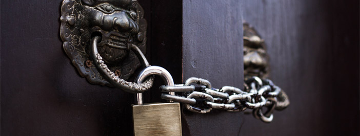 cybersecurity through locked doors