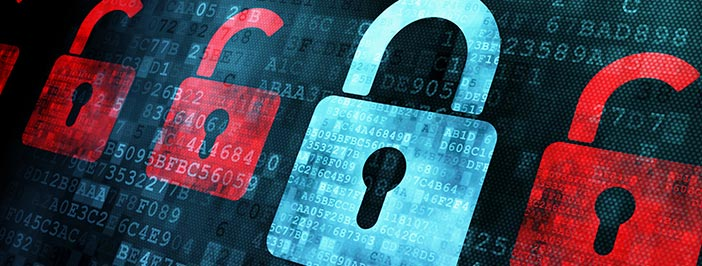 Cybersecurity tips for mitigating risk.